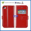 C&T real leather cases for iphone 4,wallet cover for iphone 4s