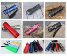 9 LED flashlight 9 LED torch