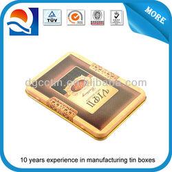 high-end business card tin box