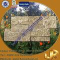 granito bege decoração pedra da parede externa