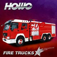 in the world howo 10 wheel 336hp old fire trucks