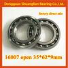 16007 bearing 35x62x9mm 16006 16007 16100 16101 deep groove ball bearing