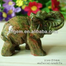 Fashion stone elepant for home decoration