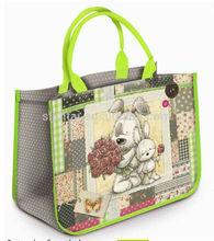 2014 little dogs pp woven shopping bag
