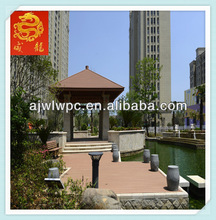 Eco Friendly Outdoor WPC Project/Wood Plastic Decking