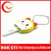 rubber silicon key cover,soft pvc key case