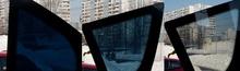 Magic privacy electrochromic film for car window