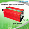 Modified sine wave off grid 2kw power inverter converter for solar engergy systems
