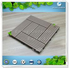 Exterior baldosas / WPC decking / WPC materiales de construcción