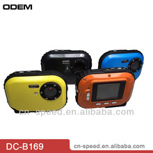 2012 new 1.8'' TFT screen,3m underwater 3 mega waterproof digital camera