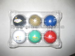 Colored Practic Golf Balls