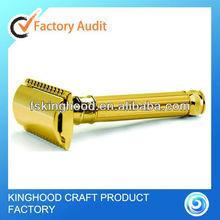 Golden safety razor/high quality safety razor/double edge razor