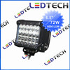 2014 most popular auto led lamp 6.5'' 72w 6000lum cree led light bar