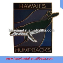 Customized metal lapel pin badge souvenirs