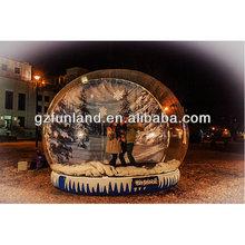 Big Snow Globe for Christmas Event