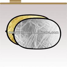 100*150cm Double Color Photograhpic Light Reflector disc road reflectors cat eyes