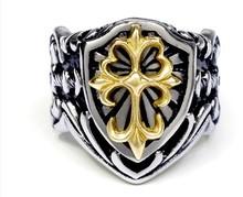 316L steel old fashion cool men finger ring