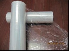 Plastic core stretch film