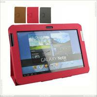 For Samsung Galaxy Note 10.1 Case Folio Cover Genuine Leather Case P-SAMN8000CASE004