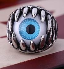 creative 316L steel material logo finger ring men ring