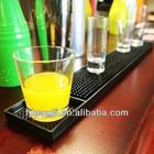 soft plastic bar mat /rubber bar table top mat