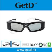 144HZ acoplamiento del DLP 3D para toda DLP Link 3D Proyectores, como Optama,Viewsonic, Vivitek, Acer, BenQ, Mitsubis