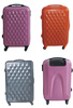 PC diamond rolling designer luggage sets