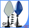 blue color racing motorcycle side mirrors QJ-2677