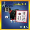 New coming Large vapor Pyrex tube dual coil kanger protank 3