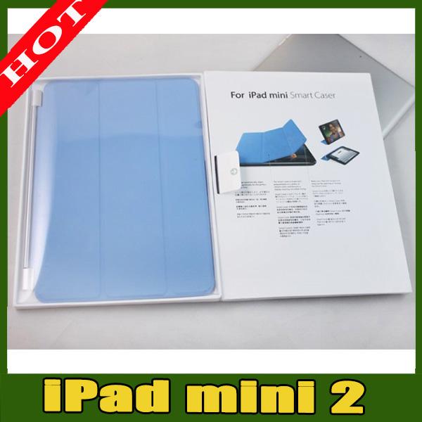 pu leather smart case for ipad mini 2