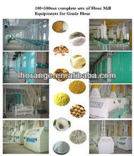 High efficiency 50 - 100t/d flour mill