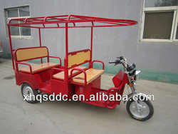 three wheel tricycle electric auto rickshaw