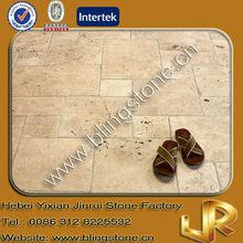 Beige Travertine Indoor Paving Stone Tiles