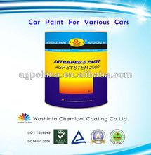 Multi Automobile Paint Colours