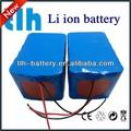 24 volts de iões de lítio bateria 10ah para carrinho de golfe