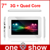 Tablet PC Quad Core 3G BCM23550 7 inch 1024*768 HD GPS/BT