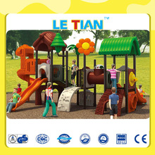 IMPORT LLDPE EXCITING FOREST JUNGLE THEME KIDS PLAYGROUND EQUIPMENT LT-2007A
