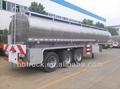 Cisterna de combustible, semi remolque 49 cbm