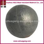 Low chrome alloyed casting grinding media steel ball pore free