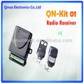 สากลล็อคประตูqn-kit01ชุดรับสัญญาณfm