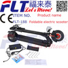 Best quality high speed lithinum battery folding mini electric scooter