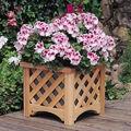 - wp2-13005 plantador do jardim- gg squre plantador de madeira/balde de madeira/plaina flor/