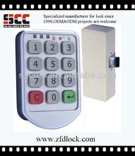 Hot sale unique sepon electric digital key box code lock