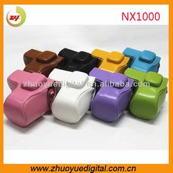 Fashion Anti-shock 16-50 PU Leather Dslr digital Camera Camera case for Samsung NX1000 Bag case for Sony NEX1000 Factory price