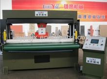belt feeding hydraulic traveling & rotary head plastic cutting machine