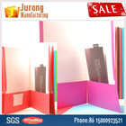 Jurong Manufacturing FC Size Paper File Folder, Assorted Colors