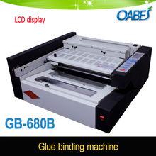 Glue perfect binding machine