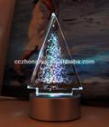 Crystal Christmas Tree with Led light base