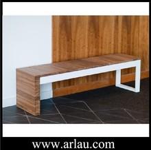 Indoor Interior Wood Bench