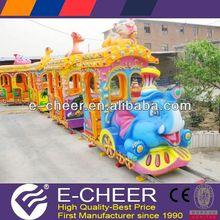 More choices&modelling!Electric amusement train,safari elephant train rides,train rides for sale